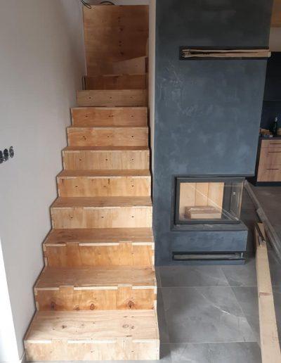 interiéry schody